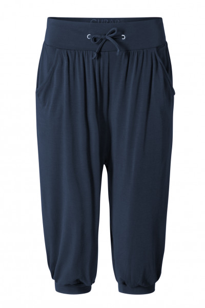 Flow #1131 Capri Pants relaxed - midnight-blue