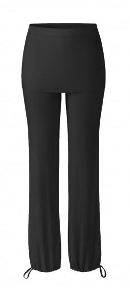 Flow #9247 Long Pants Skirt - bordeaux